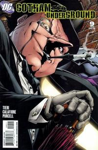 Cover Thumbnail for Gotham Underground (DC, 2007 series) #9