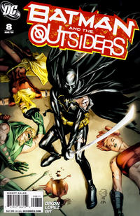 Cover Thumbnail for Batman and the Outsiders (DC, 2007 series) #8