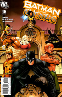 Cover Thumbnail for Batman and the Outsiders (DC, 2007 series) #10