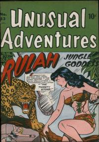 Cover Thumbnail for Unusual Adventures (Bell Features, 1949 series) #53
