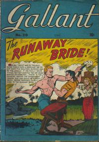 Cover Thumbnail for Gallant (Bell Features, 1951 ? series) #20