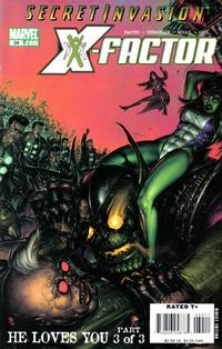 Cover Thumbnail for X-Factor (Marvel, 2006 series) #34