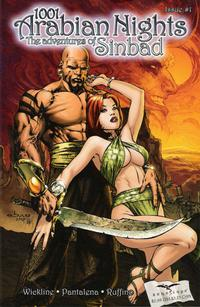 Cover Thumbnail for 1001 Arabian Nights: The Adventures of Sinbad (Zenescope Entertainment, 2008 series) #1 [Cover A - Eric Basaldua]