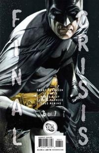 Cover for Final Crisis (DC, 2008 series) #6 [Sliver Cover]