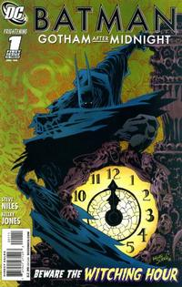 Cover Thumbnail for Batman: Gotham After Midnight (DC, 2008 series) #1