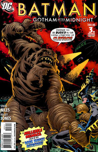 Cover Thumbnail for Batman: Gotham After Midnight (DC, 2008 series) #3