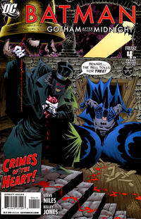 Cover Thumbnail for Batman: Gotham After Midnight (DC, 2008 series) #4