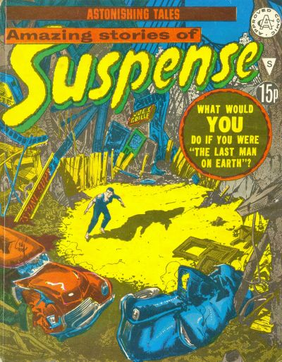 Cover for Amazing Stories of Suspense (Alan Class, 1963 series) #S