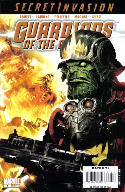 Cover for Guardians of the Galaxy (Marvel, 2008 series) #4