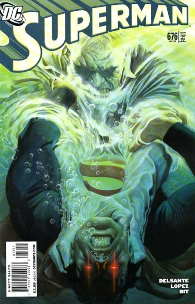 Cover for Superman (DC, 2006 series) #676