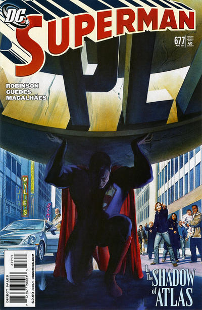 Cover for Superman (DC, 2006 series) #677