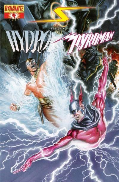 Cover for Project Superpowers (Dynamite Entertainment, 2008 series) #4 [Alex Ross Regular Cover]