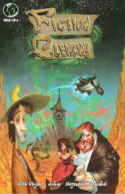 Cover for Fiction Clemens (Ape Entertainment, 2008 series) #1