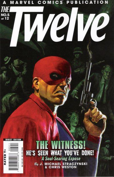 Cover for The Twelve (Marvel, 2008 series) #5