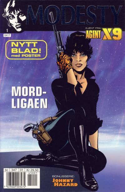 Cover for Modesty (Hjemmet / Egmont, 2004 series) #1