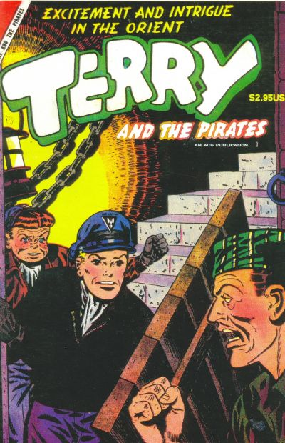 Cover for Terry & the Pirates (Avalon Communications, 1998 ? series) #1