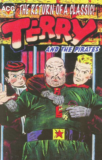 Cover for Terry & the Pirates (Avalon Communications, 1998 ? series) #3