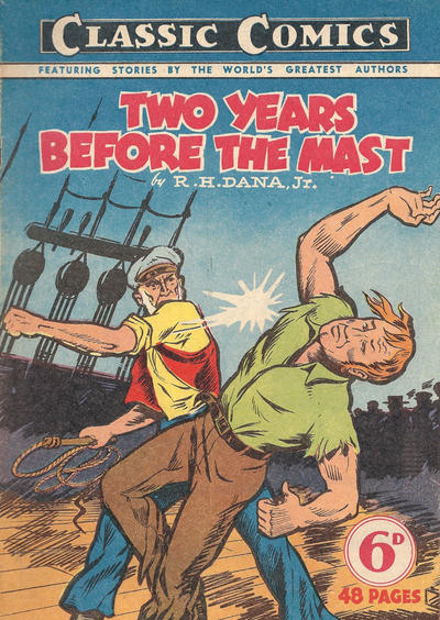 Cover for Classic Comics (Ayers & James, 1947 series) #6