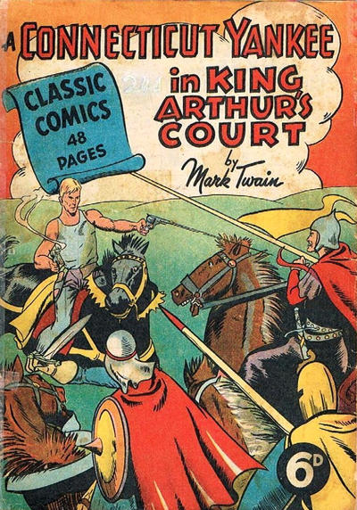 Cover for Classic Comics (Ayers & James, 1947 series) #11