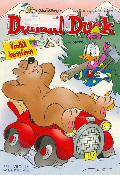 Cover for Donald Duck (Geïllustreerde Pers, 1990 series) #51/1996