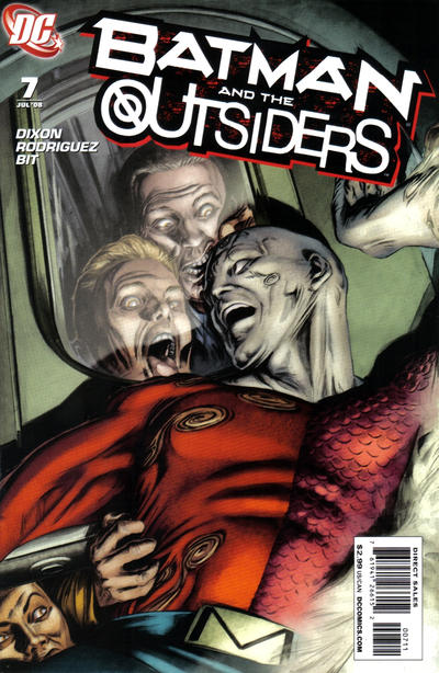 Cover for Batman and the Outsiders (DC, 2007 series) #7