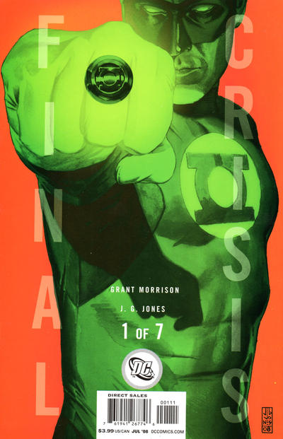 Cover for Final Crisis (DC, 2008 series) #1