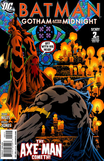 Cover for Batman: Gotham After Midnight (DC, 2008 series) #2