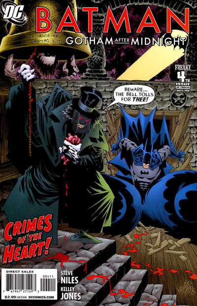 Cover for Batman: Gotham After Midnight (DC, 2008 series) #4