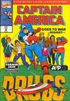 Cover for Captain America Goes to War Against Drugs (Marvel, 1992 series) #1