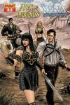 Cover for Army of Darkness / Xena (Dynamite Entertainment, 2008 series) #3 [Fabiano Neves Cover]