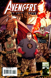 Cover Thumbnail for Avengers: The Initiative (Marvel, 2007 series) #13 [Standard Cover]