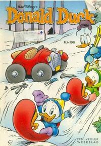 Cover Thumbnail for Donald Duck (VNU Tijdschriften, 1998 series) #6/2001