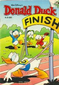 Cover Thumbnail for Donald Duck (VNU Tijdschriften, 1998 series) #23/2001
