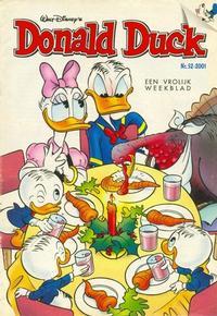 Cover Thumbnail for Donald Duck (VNU Tijdschriften, 1998 series) #52/2001