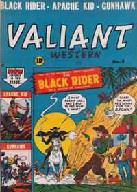 Cover Thumbnail for Valiant Western (Bell Features, 1951 series) #8