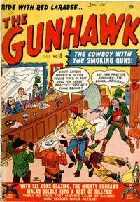 Cover Thumbnail for The Gunhawk (Bell Features, 1950 series) #15