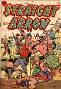 Cover Thumbnail for Straight Arrow (Superior Publishers Limited, 1950 series) #12