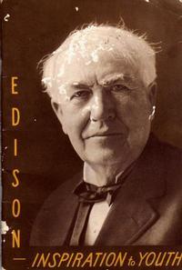 Cover Thumbnail for Edison - Inspiration to Youth (T. A. Edison, 1939 series) #[nn]
