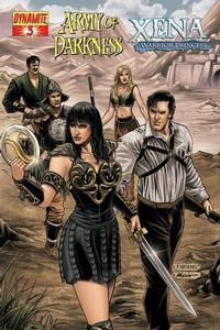Cover Thumbnail for Army of Darkness / Xena (Dynamite Entertainment, 2008 series) #3 [Fabiano Neves Cover]