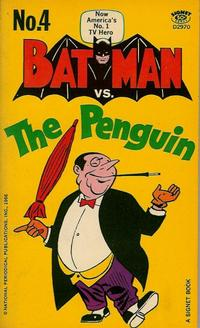 Cover Thumbnail for Batman vs. the Penguin (New American Library, 1966 series) #D2970