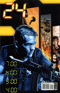 Cover Thumbnail for 24: Nightfall (IDW, 2006 series) #5 [Joe Corroney Cover]