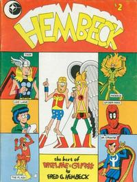 Cover Thumbnail for Hembeck: The Best of Dateline: @!!?# (Eclipse, 1979 series) #[1]