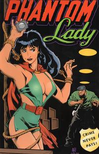 Cover Thumbnail for Phantom Lady: Crime Never Pays! (Verotik, 1994 series)
