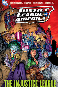 Cover for Justice League of America (DC, 2007 series) #3 - The Injustice League