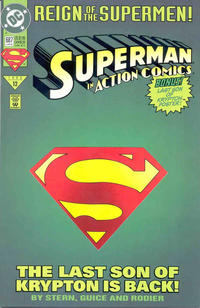 Cover Thumbnail for Action Comics (DC, 1938 series) #687 [Direct Sales]