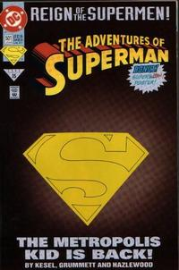 Cover Thumbnail for Adventures of Superman (DC, 1987 series) #501 [Collector's Edition]