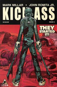Cover Thumbnail for Kick-Ass (Marvel, 2008 series) #3