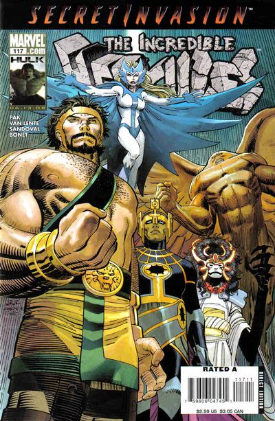 Cover for Incredible Hercules (Marvel, 2008 series) #117 [Second Printing]