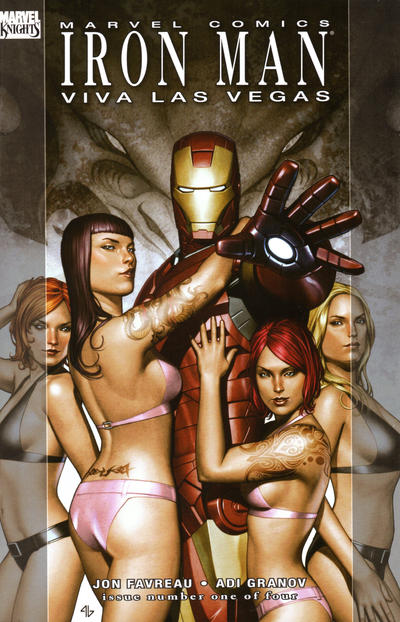 Cover for Iron Man: Viva Las Vegas (Marvel, 2008 series) #1 [Second Printing]