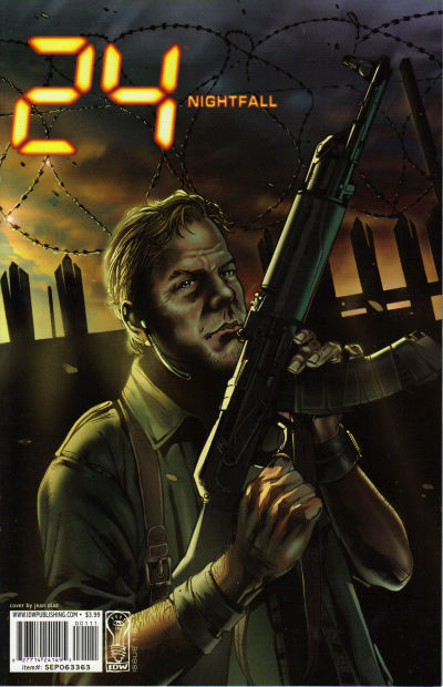 Cover for 24: Nightfall (IDW, 2006 series) #1 [Jean Diaz Cover]